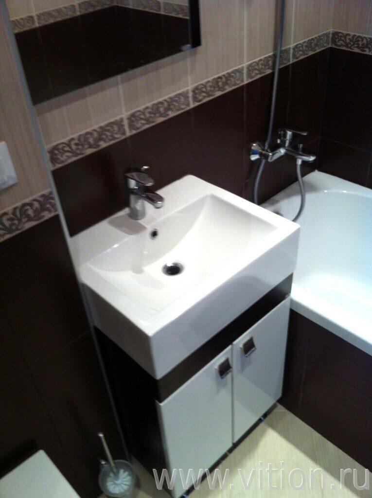 Ванная комната малосемейки удобства в ванной комнате